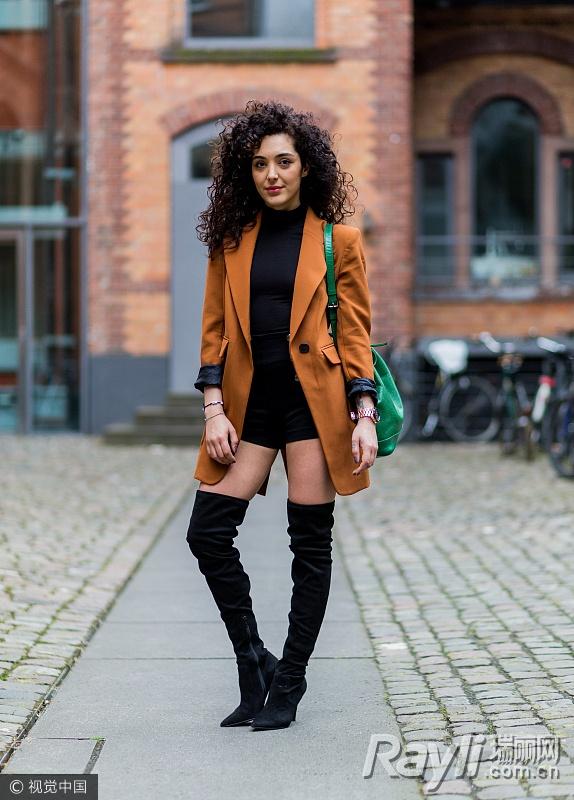 关关江疏影的时尚秘籍 西装搭热裤是标配 服饰潮流 图16