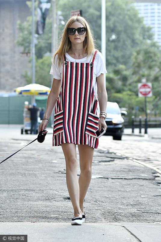 娜扎的背带裙可御姐可萝莉 驾驭各种风格哪怕是性感都不在话下!  风格偶像 图9