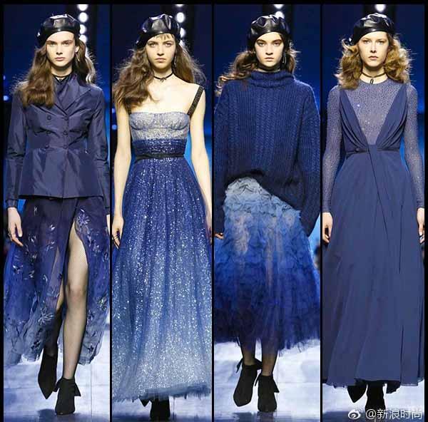 Dior蓝,今夏最时髦的流行色,迷倒baby黄轩赵丽颖 服饰潮流 图20