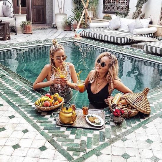 7大时髦的酒店泳池 刷爆你的社交圈 生活方式 图1