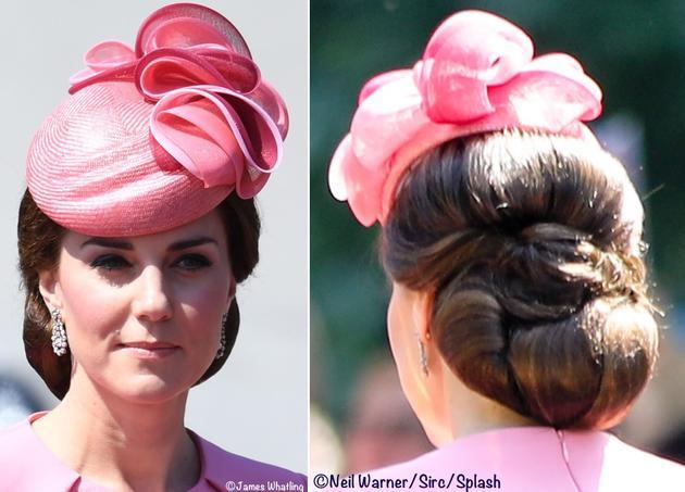 凱特王妃佩戴 Jane Taylor禮帽