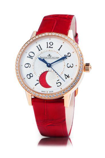 积家Rendez-Vous Moon约会月相系列慈善定制款腕表