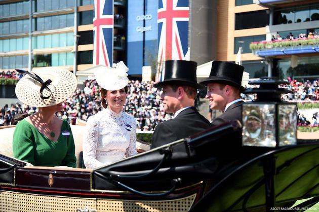 凯特王妃与皇室成员