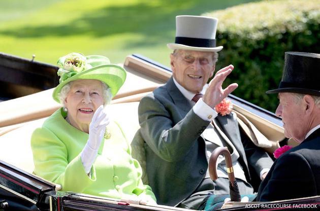 英国女王与飞利浦亲王也现身活动