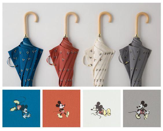 米奇图案的W.P.C雨伞系列