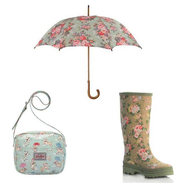 Cath Kidston的田园风雨具
