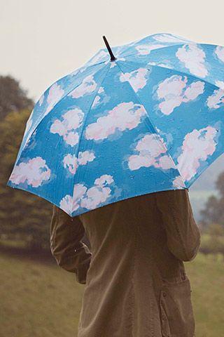 Cath Kidston的云朵雨伞
