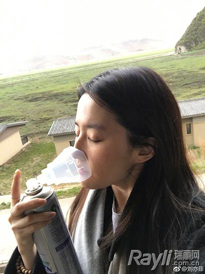 Nili神仙姐姐刘亦菲