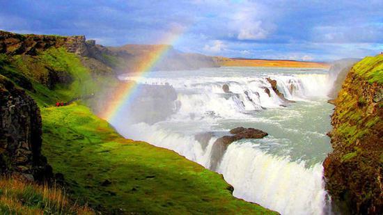 Gullfoss瀑布
