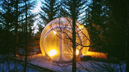冰岛泡泡酒店 Bubble Hotel