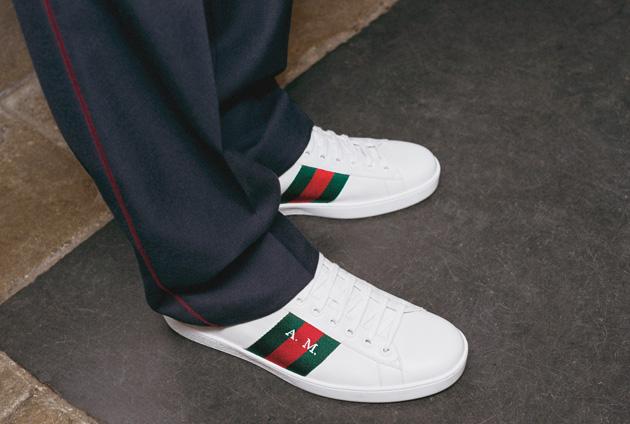 Gucci定制服务鞋履系列