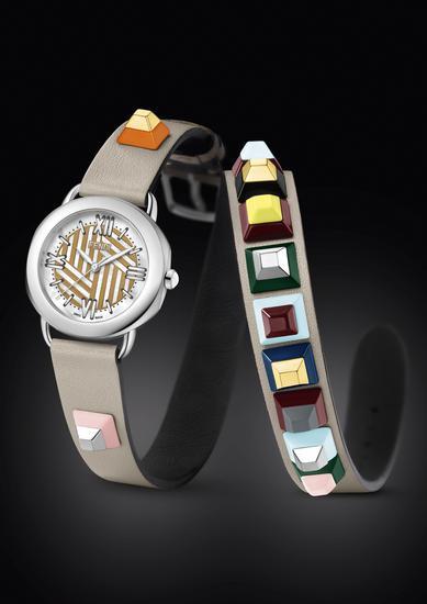 创意个性化再上新高 以肩带为灵感的炫酷腕表