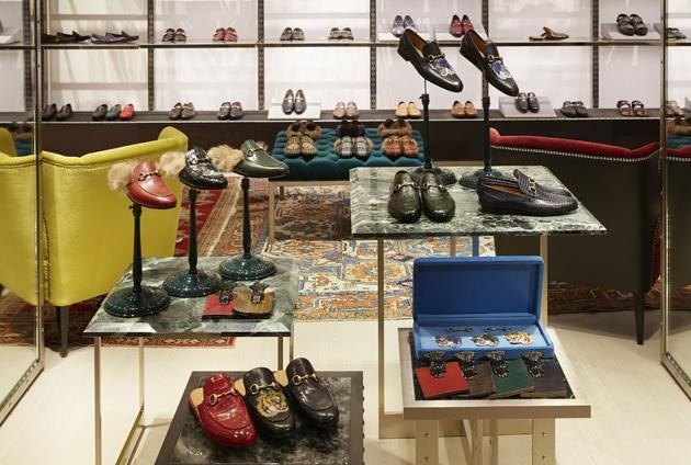 Gucci米兰蒙特拿破仑大街旗舰店鞋履