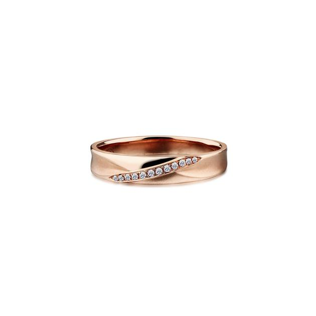 千叶珠宝Bridal系列结婚对戒-女