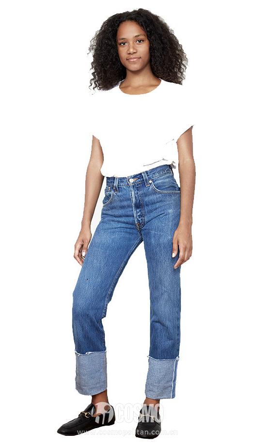 RE:DONE牛仔裤(参考价:83美元)