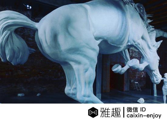 克劳迪亚·冯特《马的问题》(Claudia Fontes,《Horse Problem》,图片:Instagram,摄影:has1968)