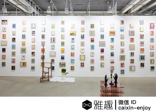 一家画廊正在展示它的作品(图片:Art basel)