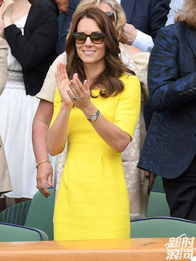 """这条裙子被威廉王子起名""""香蕉裙"""""""