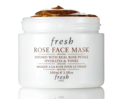 Fresh玫瑰润泽保湿舒缓面膜