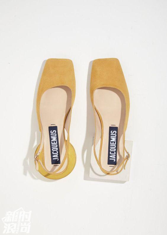 Jacquemus不对称鞋跟凉鞋