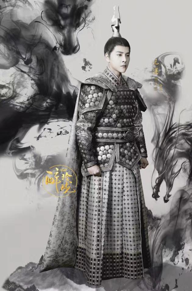 徐海乔时尚大片曝光 《醉玲珑》双面湛王看点足