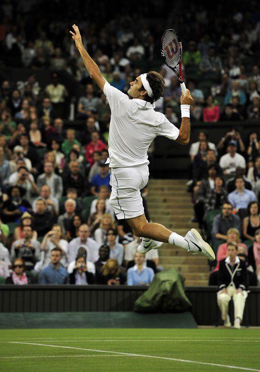 费德勒让网球变得优雅
