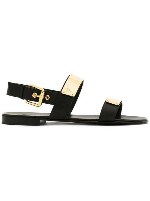 Giuseppe Zanotti金属环凉鞋
