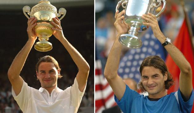 2004年温网冠军和2004年美网冠军