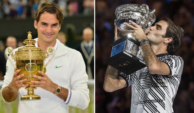 2012年温网冠军和2017年澳网冠军