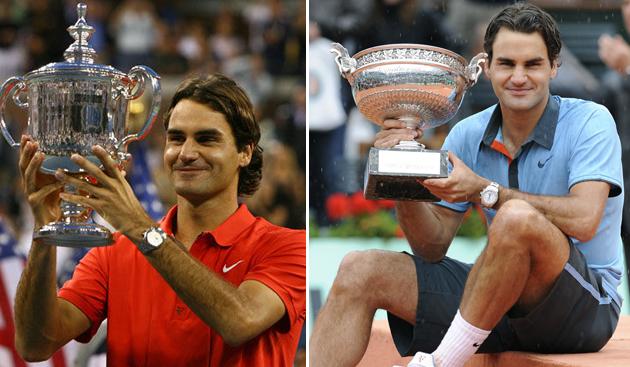 2008美网冠军和2009法网冠军