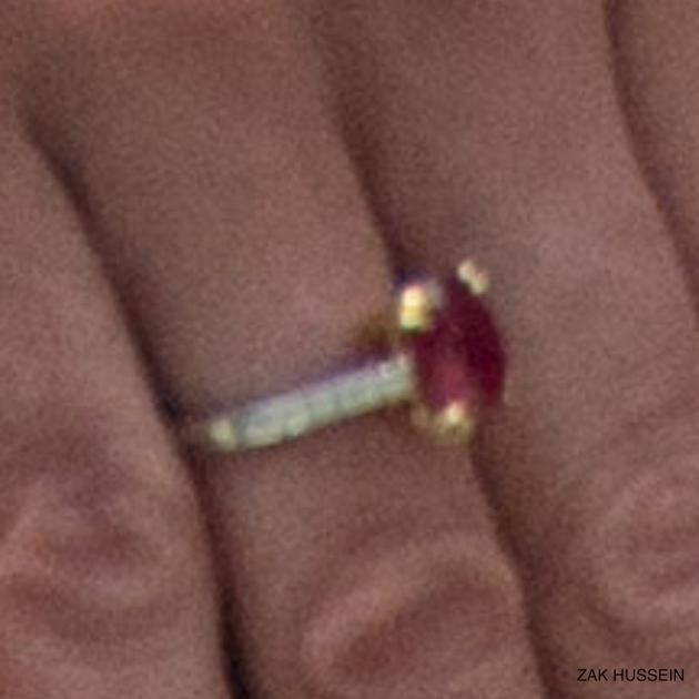 凯特王妃红宝石戒指