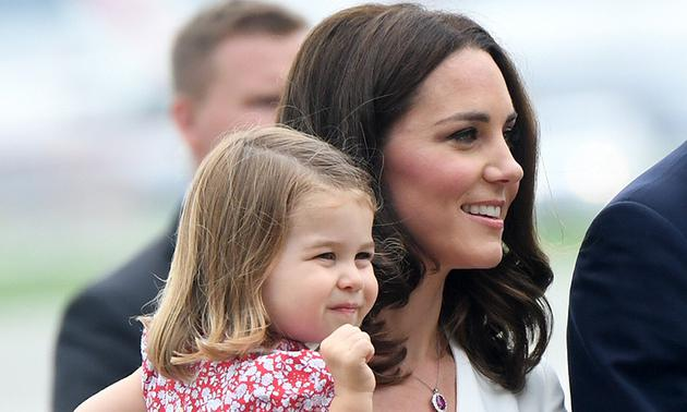 凯特王妃佩戴粉红宝石项链