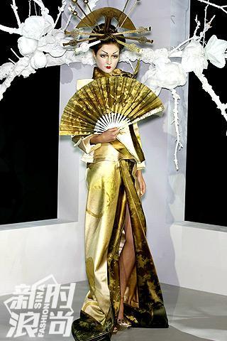 John Galliano的蝴蝶夫人系列