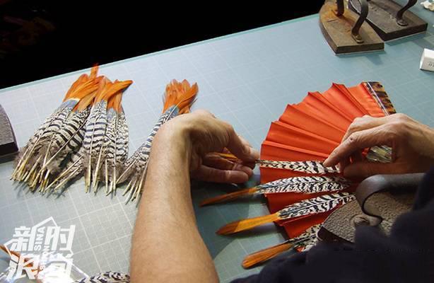 Duvelleroy折扇的制作过程