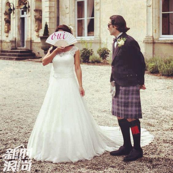 结婚时拿duvelleroy