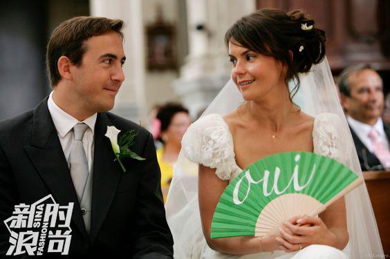 结婚时用Duvelleroy的折扇