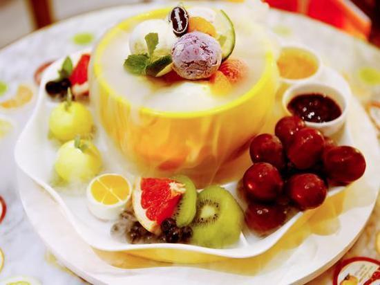 哈根达斯柚一夏冰淇淋柚子盅