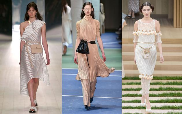 左:Ginger&Smart Resort 2017 中:Celine F:W 2016 右:Chanel S:S 2016