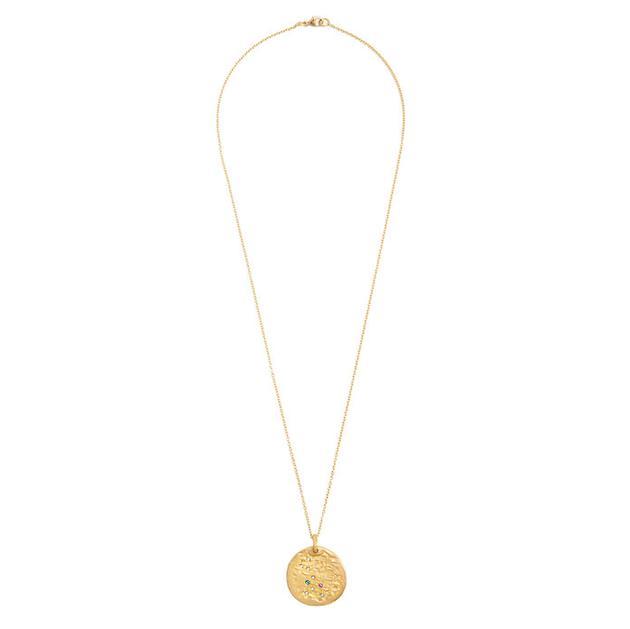 Orit Elhanati 黄金、钻石项链 售价2880美元(约19790人民币)