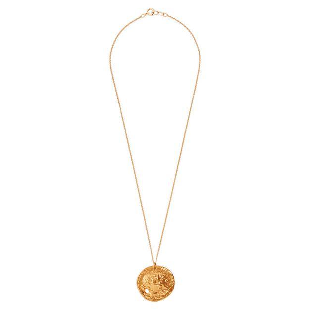 ALIGHIERI  镀金项链 售价218美元(约1500