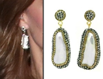 Soru珍珠耳环130英镑(约1150 )