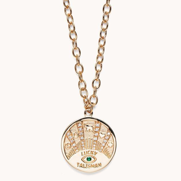 Marlo Laz 护身符项链 4920美元(约33142人民币)