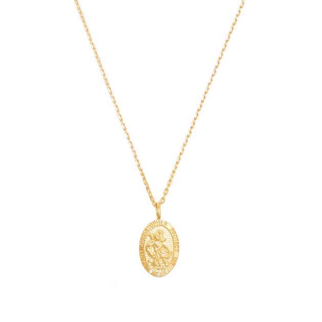 Theodora Warre镀金项链 售价155美元(约1044人民币)