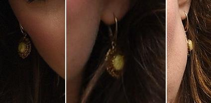 波罗的海琥珀制造的耳坠