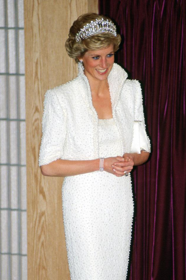 1989戴安娜王妃佩戴