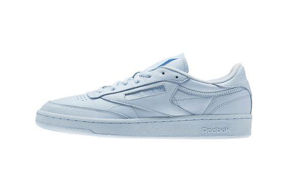 """蓝色Reebok Club C 85 """"Elm"""" Pack运动鞋"""