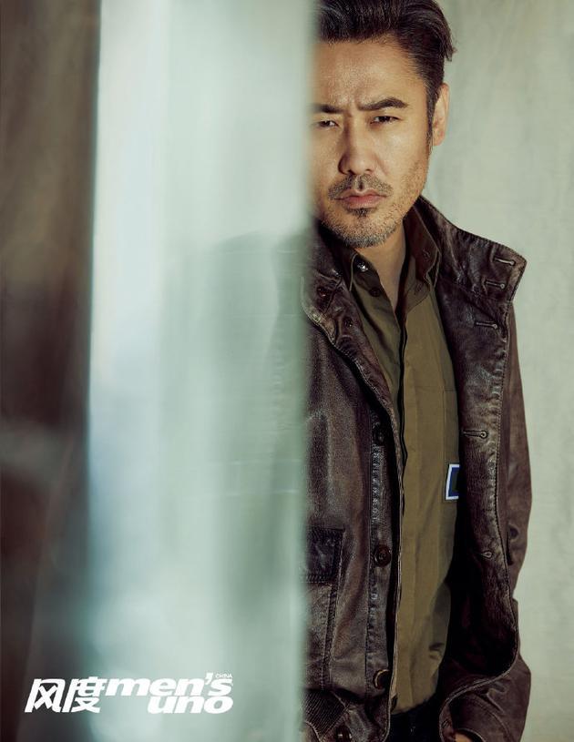 吴秀波封面大片 时尚萌叔诠释人生的非凡与不凡