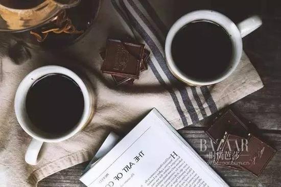黑咖啡喝起来