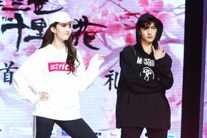 杨洋刘亦菲尬舞 白夜夫妇都是被演戏耽误的灵魂舞者
