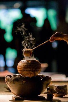 烹煮绿茶 图片来源自Sarah Pierre